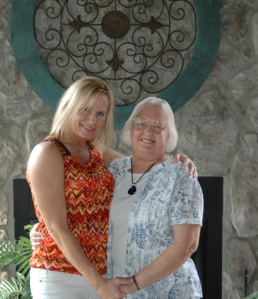 Tracey and her mother Faye