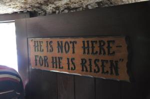 He is Risen! Photo by Randy Waller