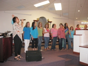The Women of Hope sing about the change Christ has made in their lives