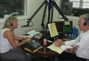 "Bro. Larry Combs talks with Tracey about her book ""Meet me at the Bean Flap"""